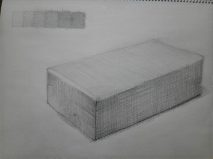 ティッシュペーパーの箱(裏側)