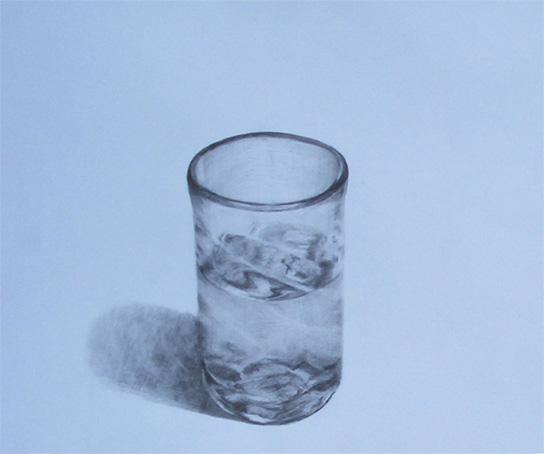 ガラスコップ01