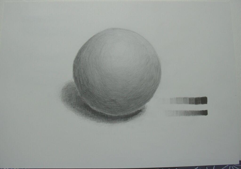 発泡スチロールの球体2回目