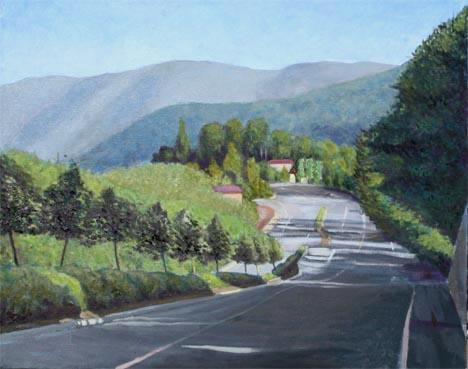 サラトガ風景