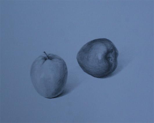 青リンゴと赤リンゴ