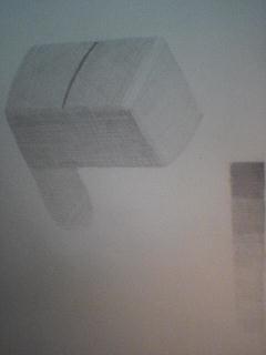 鉛筆削りの大まかな形