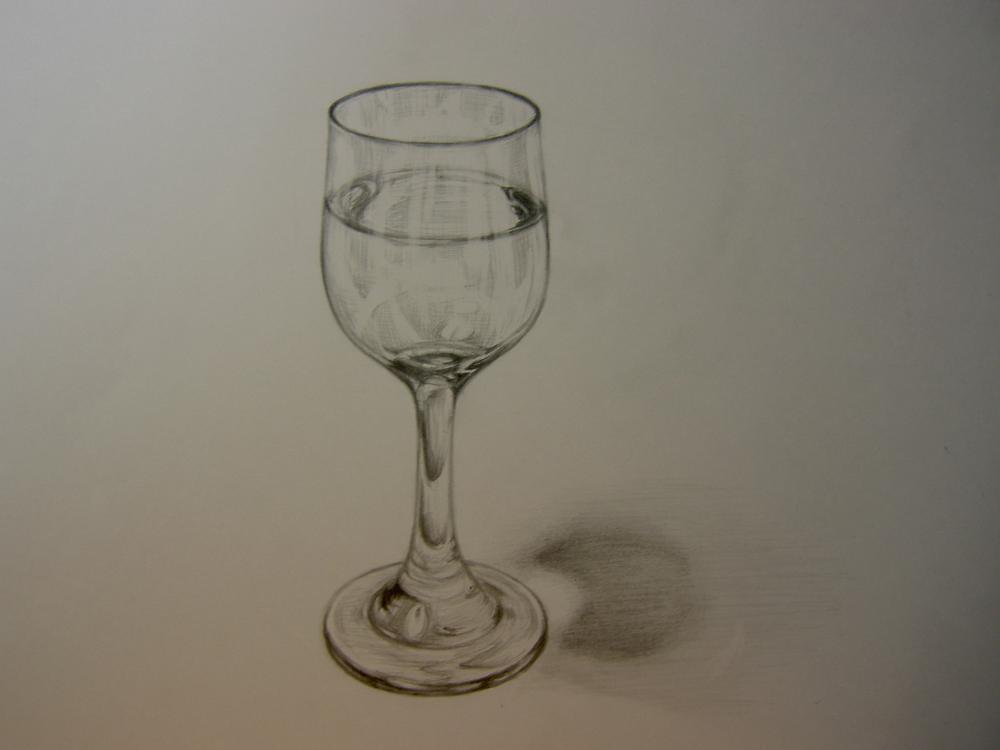 水入りグラス