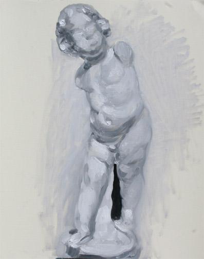 ポエショッド57:幼児の石膏像