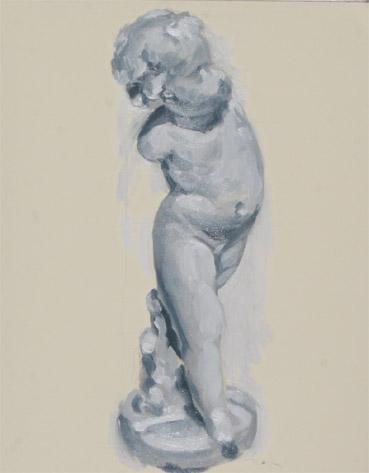 ポエショッド59:幼児の石膏像2