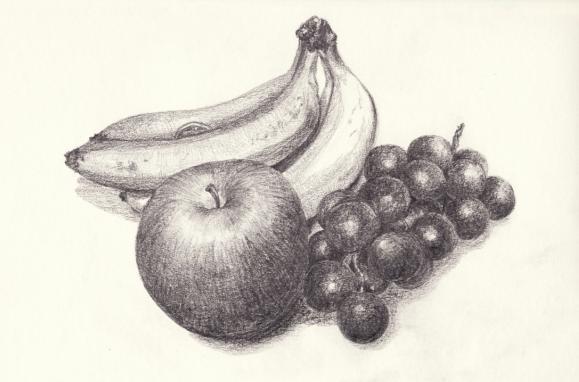 りんご・ぶどう・バナナ