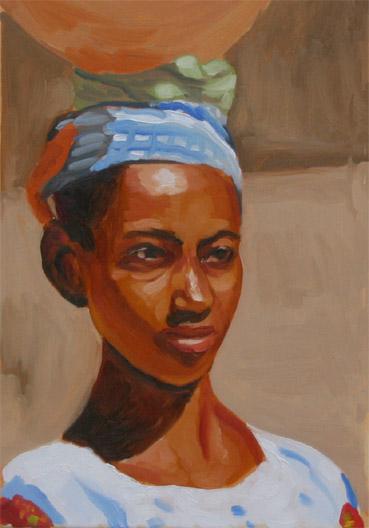 アラプリマ:アフリカの少女