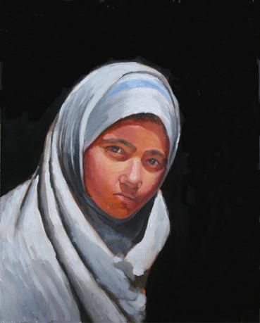 アラブの少女