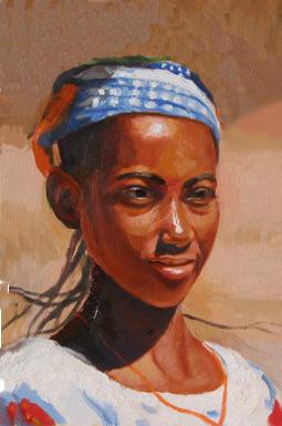 アフリカの少女