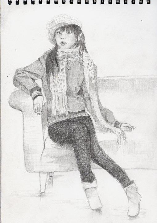 人物画(女性)