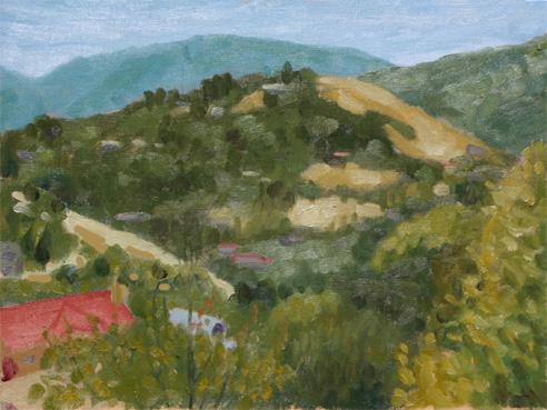 クーパティーノの山