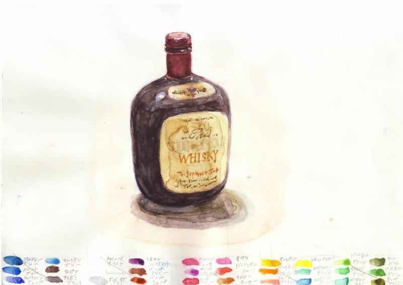 ウイスキー瓶