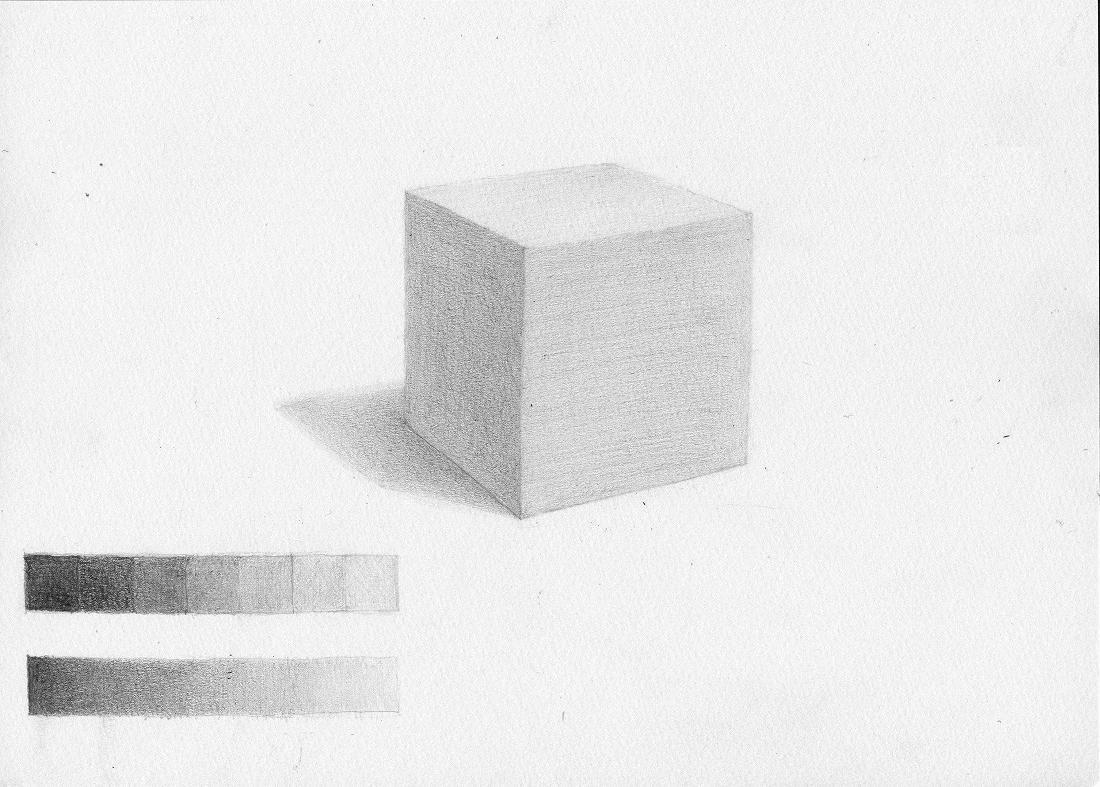 紙で作った立方体2