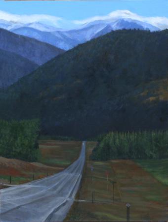 Re: 夜明けの山道