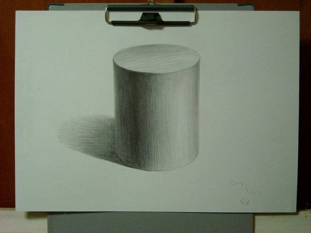 円柱の想定描写