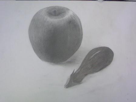 りんごとナス