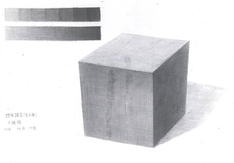 想定描写(立方体)