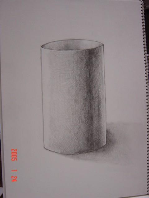 円筒形(画用紙)