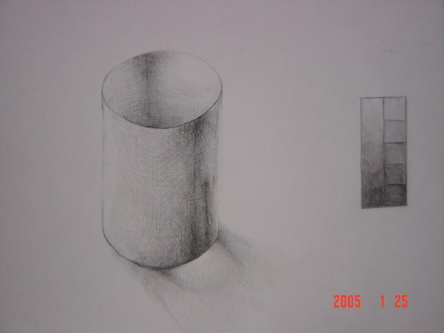 円筒形(画用紙)2