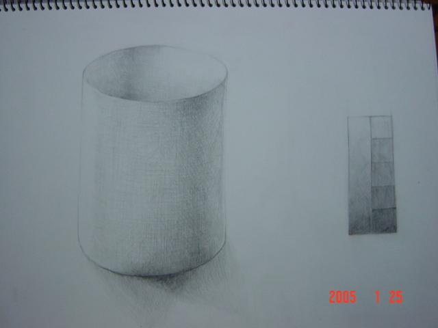 円筒形(画用紙)3