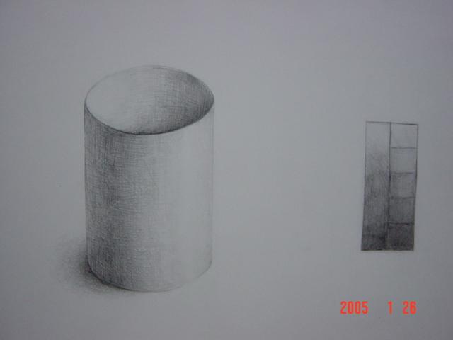 円筒形(画用紙)4