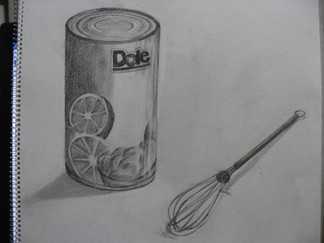 缶詰と泡立て器
