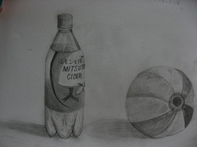 ペットボトルと紙風船