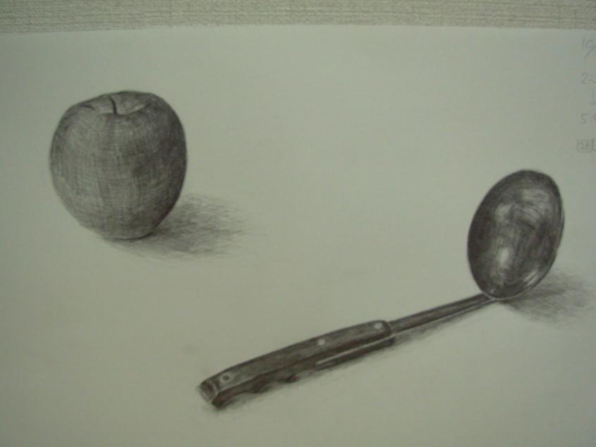 リンゴとおたま