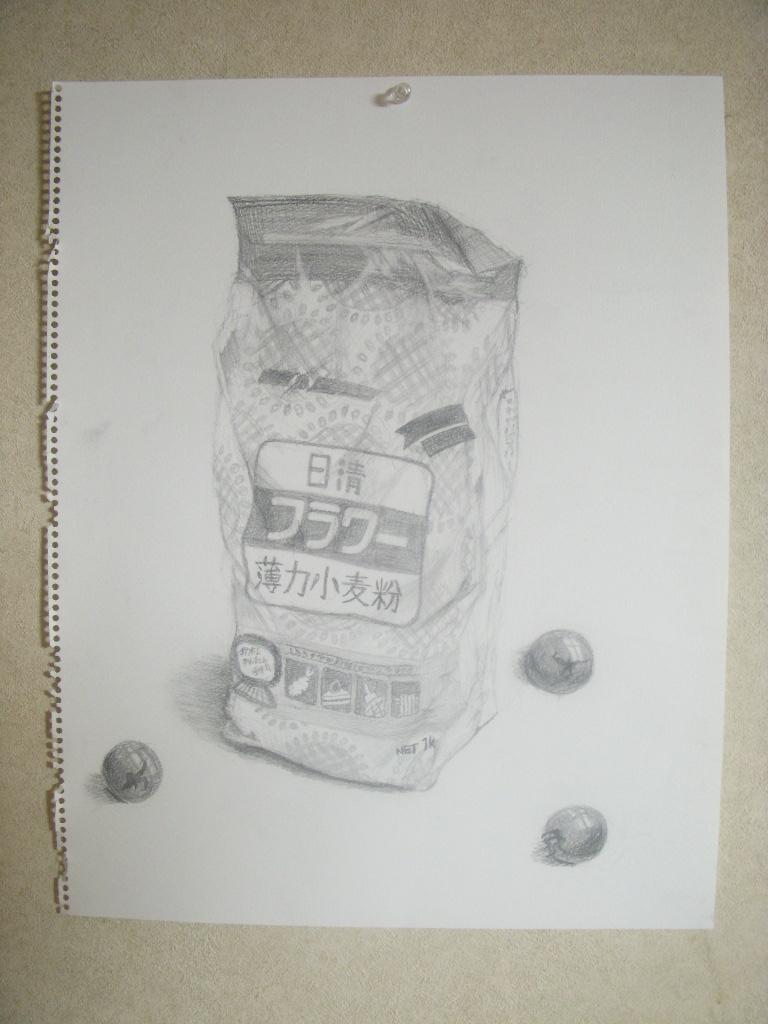 小麦粉、ミニトマト