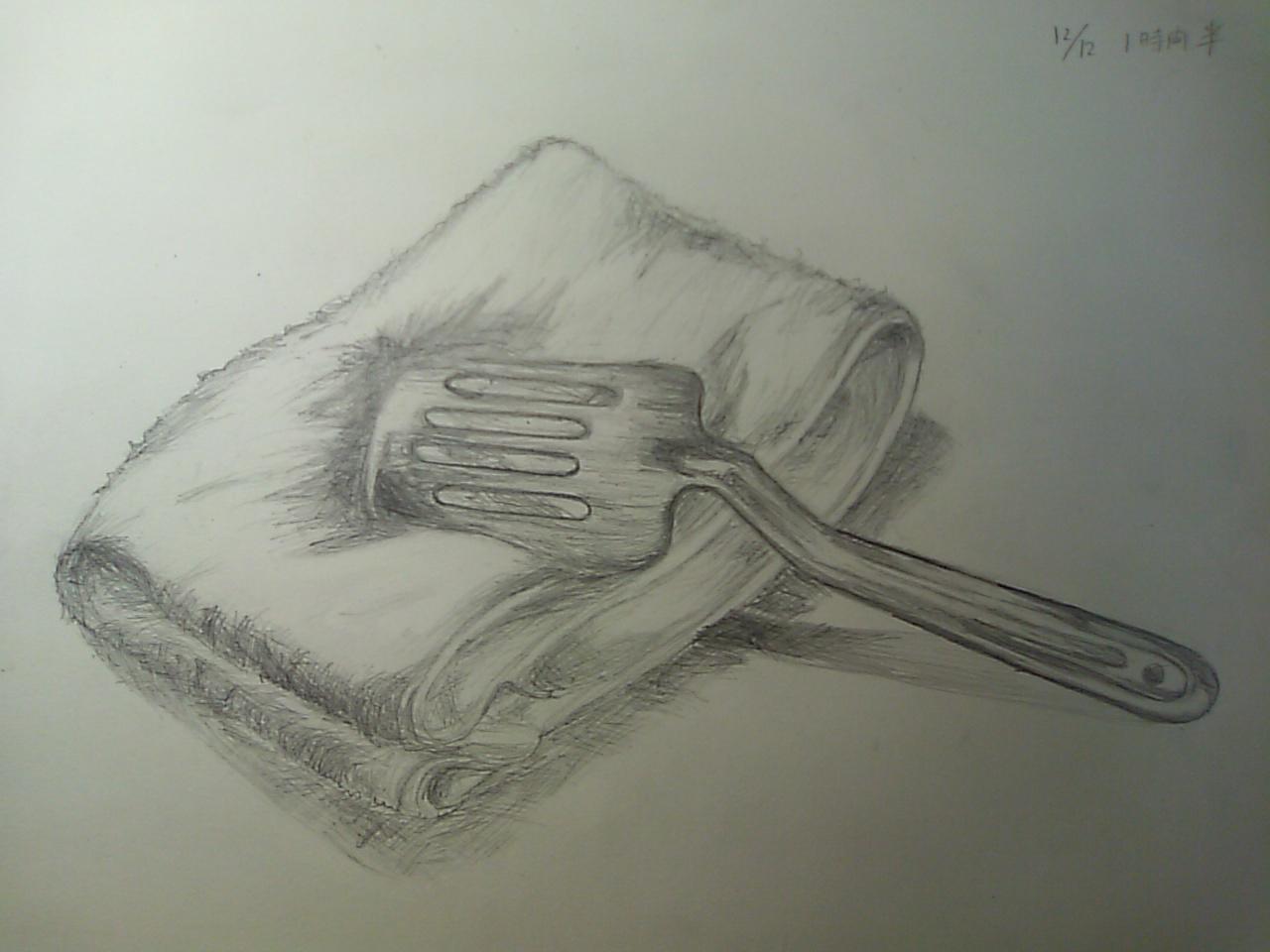 タオルと料理道具