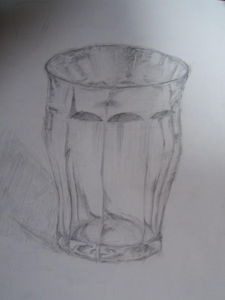 ガラスコップ