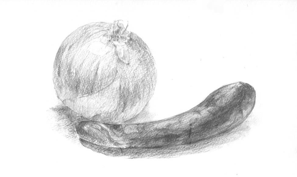 茄子と玉ねぎ