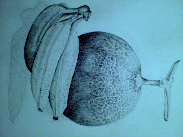 メロンとバナナ