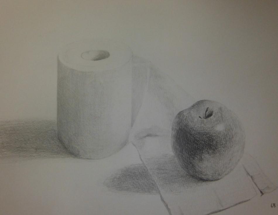 リンゴとトイレットペーパー