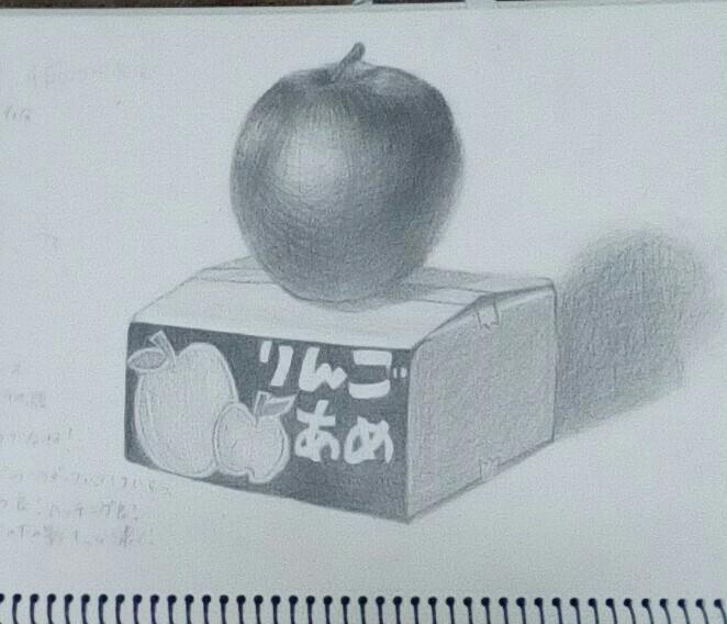 リンゴとりんごあめの箱